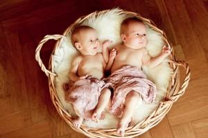 Zwillingsfotos
