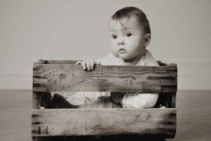 Moderne Babyfotos